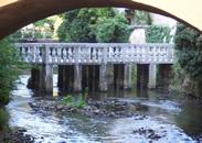 najstarejši most za Lanthierjevem dvorcem